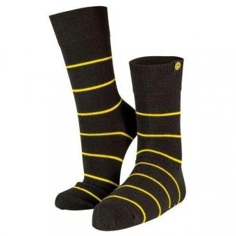 Borussia Dortmund Business-Socke Weblabel Gr. 43-46