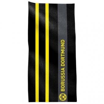 Borussia Dortmund Duschtuch Senkrechtstreifen