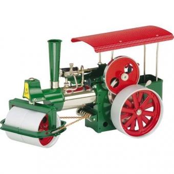 Wilesco Bausatz Dampfwalze D375, grün