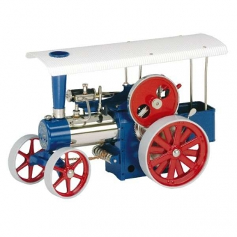 Wilesco Bausatz Dampftraktor D415, blau
