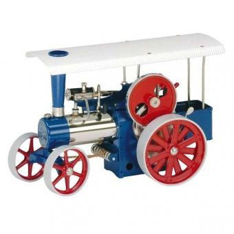 Wilesco Dampftraktor D405, blau