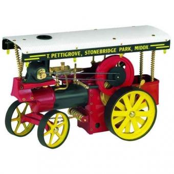 Wilesco Dampftraktor Showman`s Engine Bausatz D419