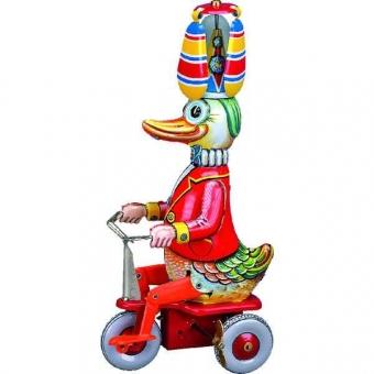 Wilesco Ente auf Dreirad Uhrwerk