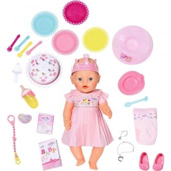 Zapf 824054 - BABY born® Interactive Happy Birthday