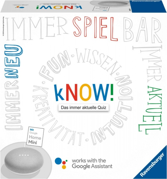 Ravensburger Know! + Google Home Mini