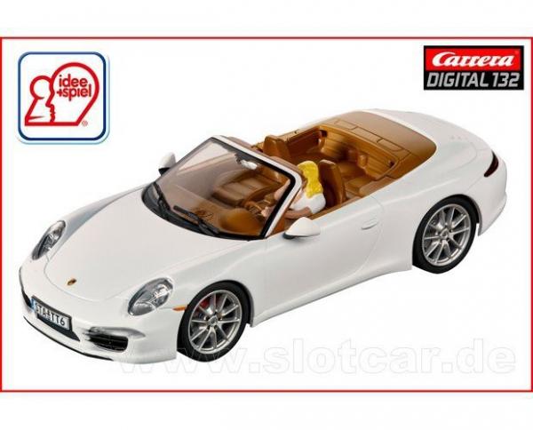 Carrera 20030762 Porsche 911 Carrera S mattweißSondermodell Idee&Spiel 2016