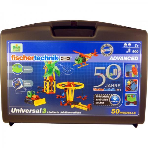 Fischertechnik 534000 ADVANCED Universal 3 Jubiläumsedition