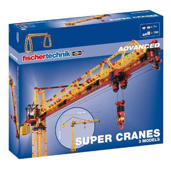 Fischertechnik 41862 Advance Super Cranes Baukasten