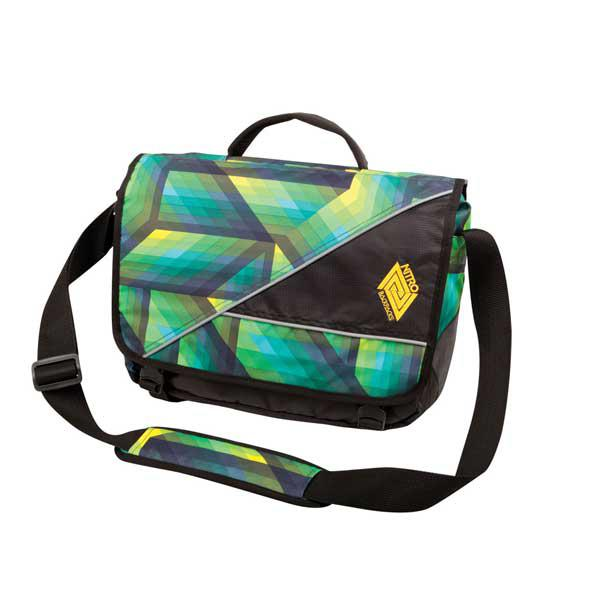 Nitro Evidence Bag Pack GEO green, Schultertasche