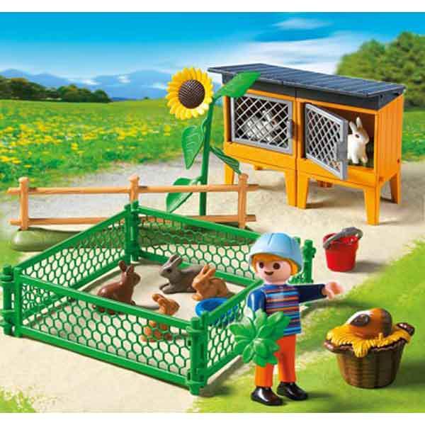 Playmobil ® 5123 Häschen-Gehege