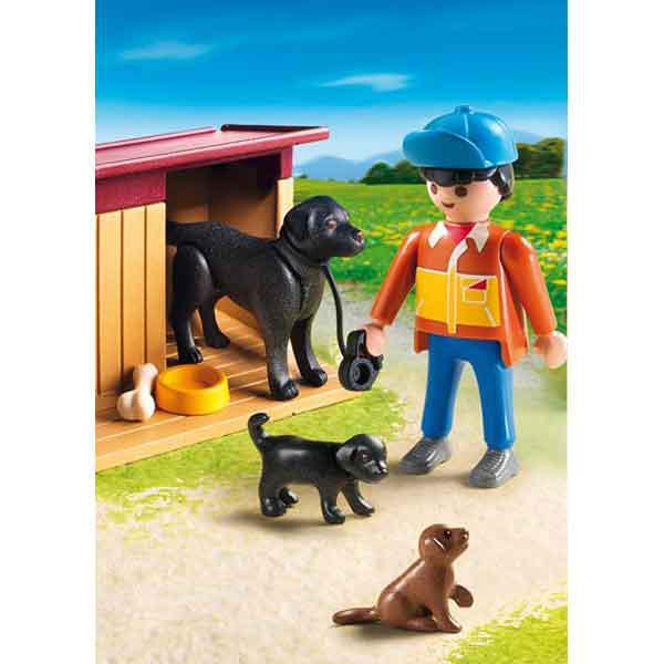 Playmobil ® 5125 Hofhund mit Welpen