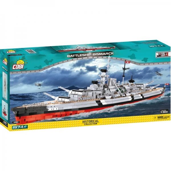 COBI 4810 - Battleship Bismarck, Modellbausatz