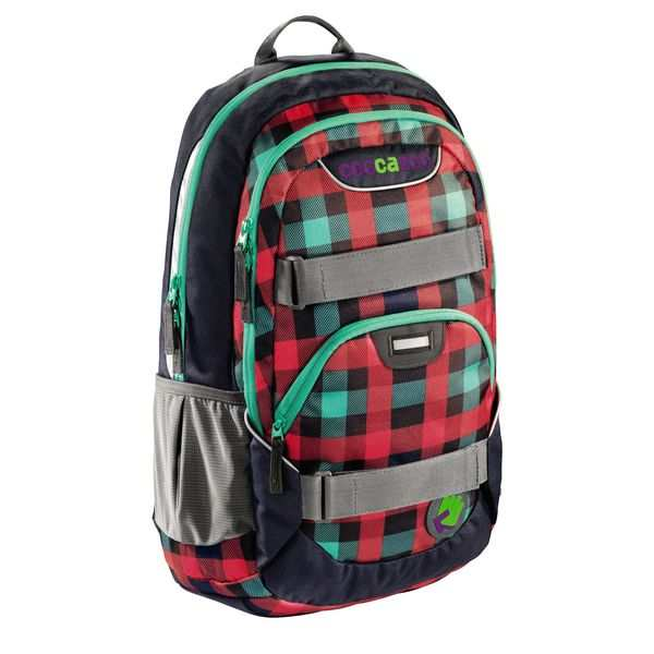Coocazoo Rucksack Rayday, Design: Checky Mint