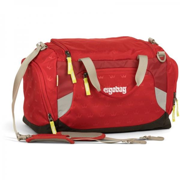 Ergobag Sporttasche, Küss den Bär, Rote Kronen
