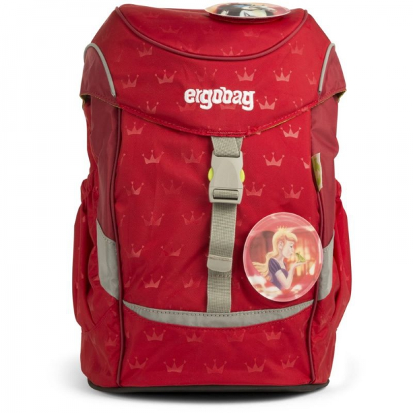 Ergobag mini Rucksack, Schniekabussi, Rote Kronen