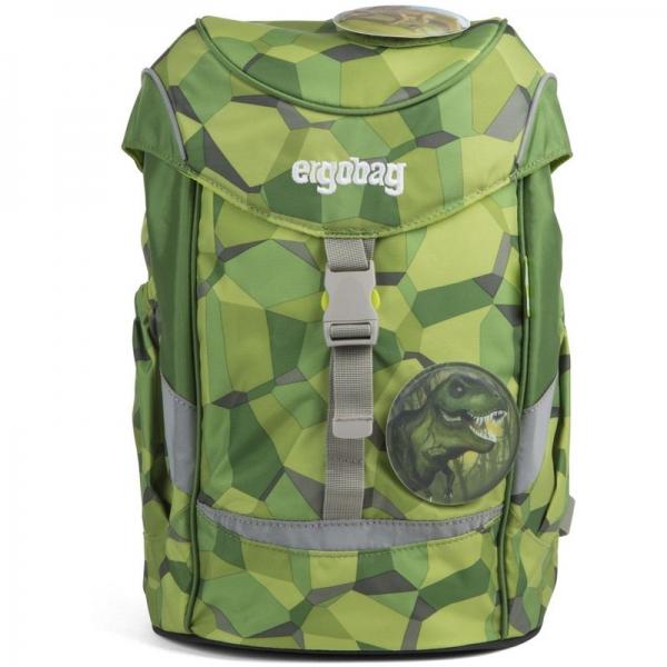 Ergobag mini Rucksack, Schniekorex, Grüne Steine