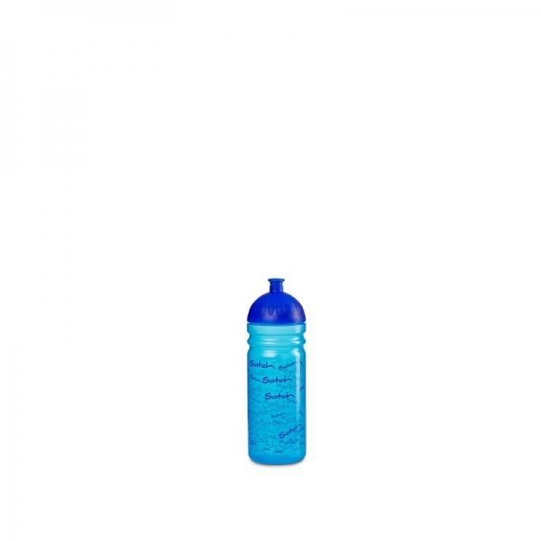 Satch Trinkflasche Blue, Allover Print Blau