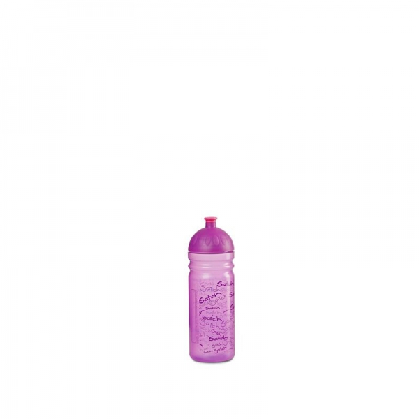 Satch Trinkflasche Purple, Allover Print Lila