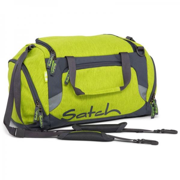 Satch Sporttasche, Ginger Lime, Gelb Grün Melange
