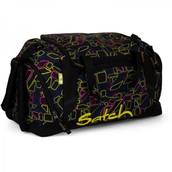 Satch Sporttasche, Disco Frisco, bunte geometrische Fromen