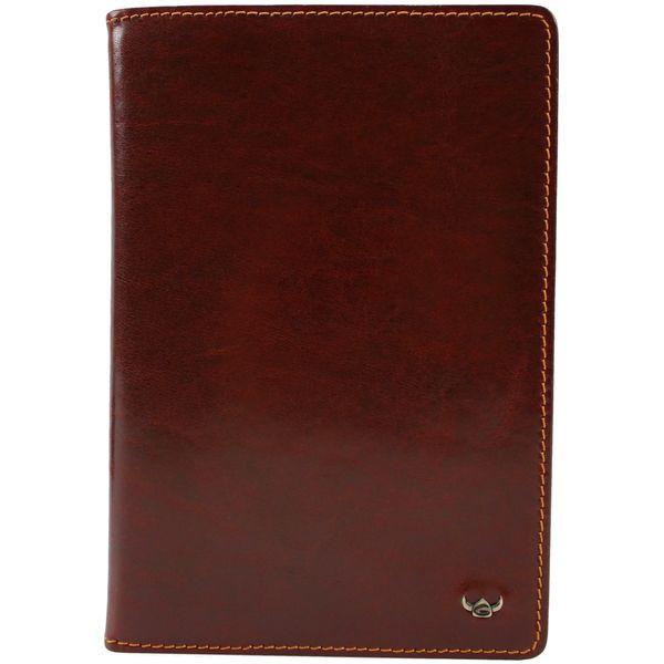 Golden Head COLORADO Brieftasche mit RV Farbe: tabacco