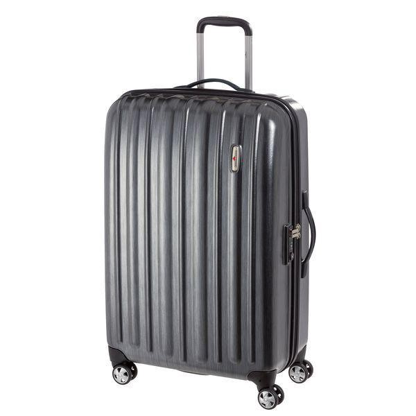 HARDWARE Profile Plus Trolley L, 4 Rollen, PieceC, Farbe: Metallic Grey Brushed