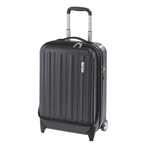 HARDWARE Profile Plus Business-Trolley hoch, Farbe: Black Grained