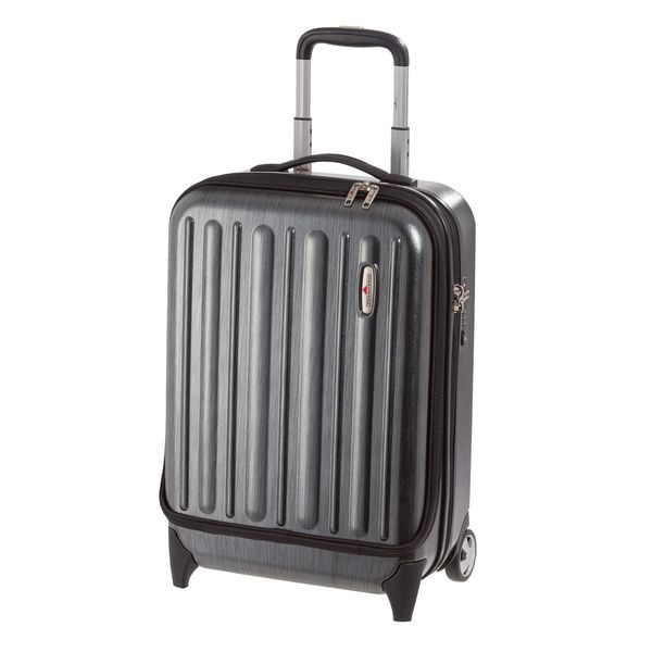 HARDWARE Profile Plus Business-Trolley hoch, Farbe: Metallic Grey Brushed
