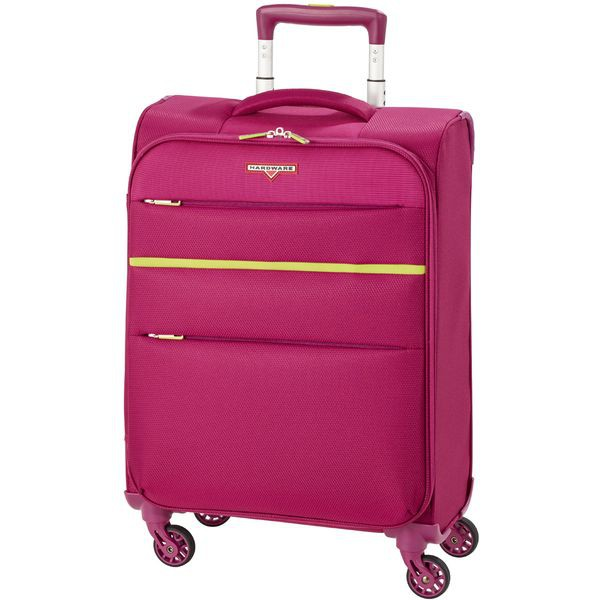 HARDWARE Revolution Trolley S, Cabin Size, 4 Rollen, Farbe: Sangria