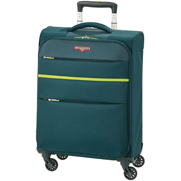 HARDWARE Revolution Trolley S, Cabin Size, 4 Rollen, Farbe: Pine Green