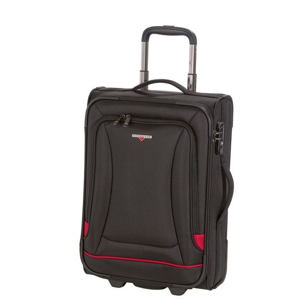 HARDWARE O-Zone Trolley S Cabin Size, 2 Rollen, Farbe: Black/Red