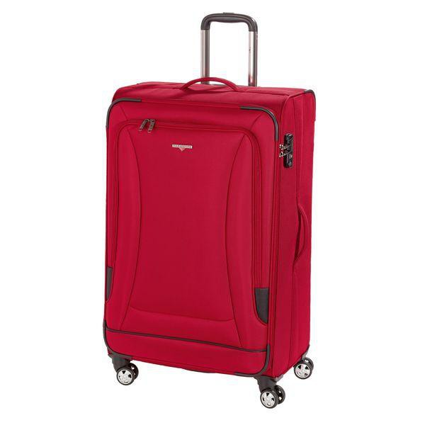 HARDWARE O-Zone Trolley L, 4 Rollen, Farbe: Red/Black