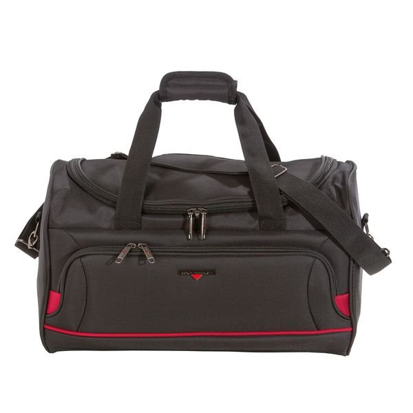 HARDWARE O-Zone Travel Bag, Reisetasche, Farbe: Black/Red