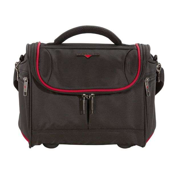HARDWARE O-Zone Beautycase, Farbe: Black/Red