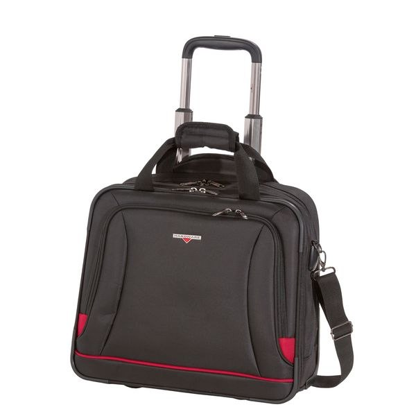 HARDWARE O-Zone Business-Trolley, Farbe: Black/Red