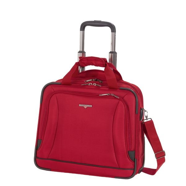 HARDWARE O-Zone Business-Trolley, Farbe: Red/Black