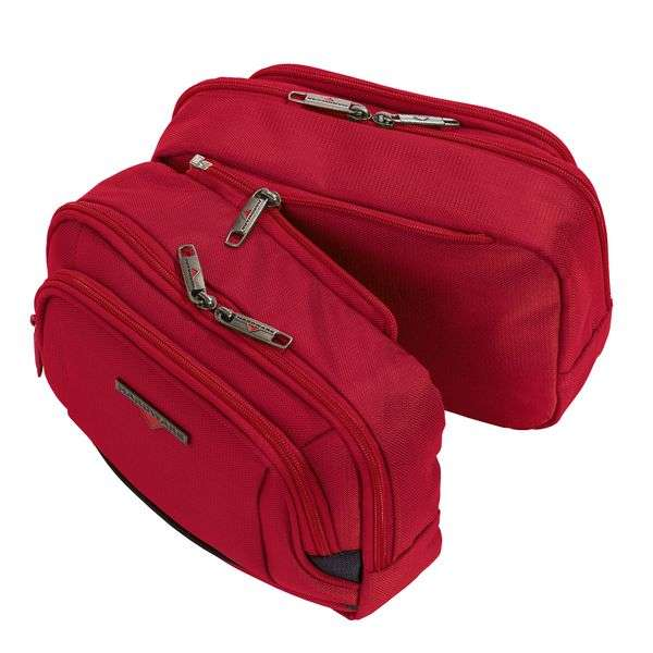 HARDWARE O-Zone Double Travel Kit, Farbe: Red/Black
