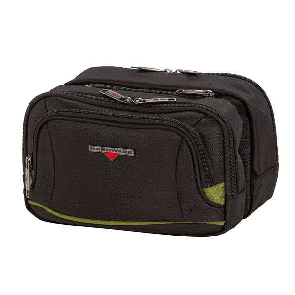 HARDWARE O-Zone Double Travel Kit, Farbe: Black/Green