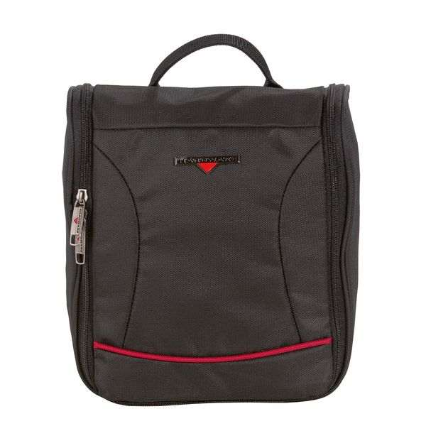 HARDWARE O-Zone Washbag, Farbe: Black/Red