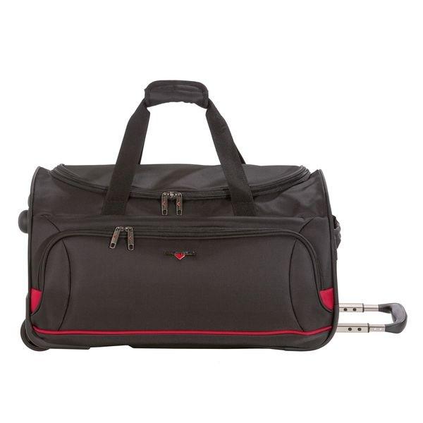 HARDWARE O-Zone Wheeled Duffle M, Reisetasche, Farbe: Black/Red