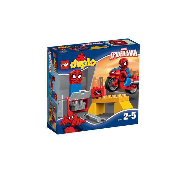 LEGO DUPLO Spiderman 10607 - Spider-Man? Motorrad-Werkstatt