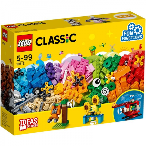 LEGO Classic 10712 - LEGO® Bausteine-Set - Zahnräder