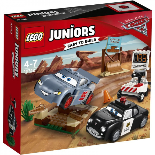 LEGO Juniors 10742 - Rasante Trainingsrunden in der Teufelsschanze