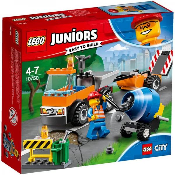 LEGO Juniors 10750 - Straßenbau-Laster