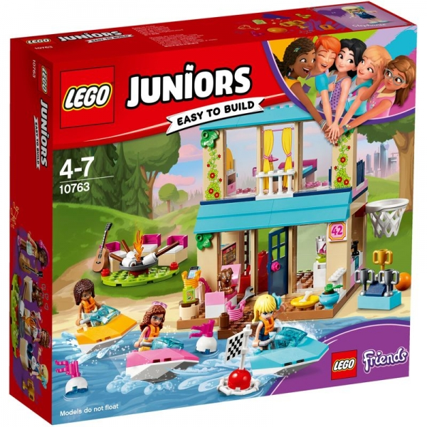LEGO Juniors 10763 - Stephanies Haus am See