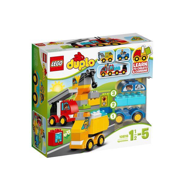 LEGO DUPLO 10816 - Meine ersten Fahrzeuge