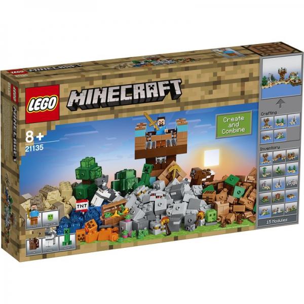 LEGO Minecraft 21135 - Die Crafting-Box 2.0