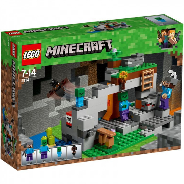 LEGO Minecraft 21141 - Zombiehöhle