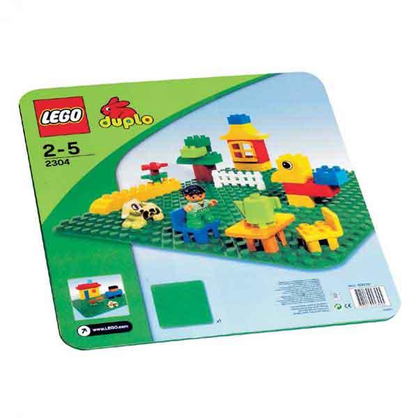 LEGO DUPLO Steine & Co. 2304 - Große Bauplatte, grün