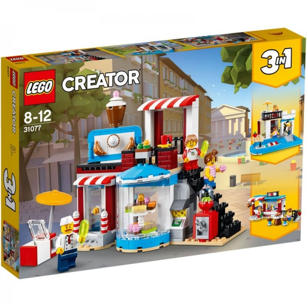 LEGO Creator 31077 - Modulares Zuckerhaus